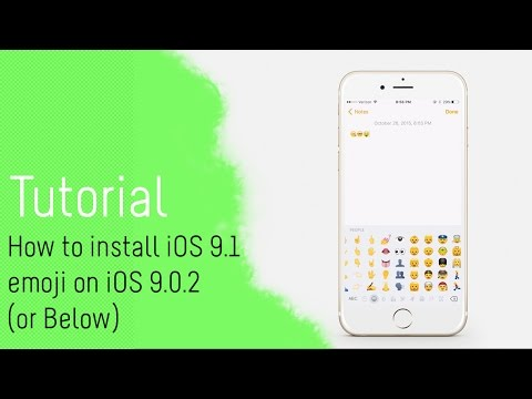 [Tutorial] How to install iOS 9.1 emoji on iOS 9.0.2 (or Below) with BytaFont 2