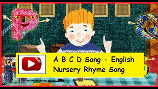 ABC song with English Subtitles - Nursery Rhymes | Kids Rhymes