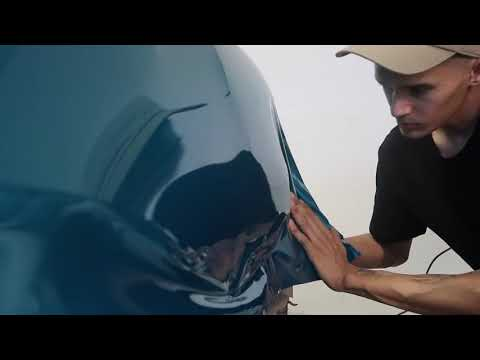 Wrapping A Spray Painted Car!! Will it hold??