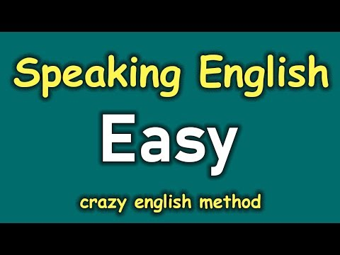 Daily English Conversation with Crazy English Method 😍 Easy To Speak English Fluently For Beginners
