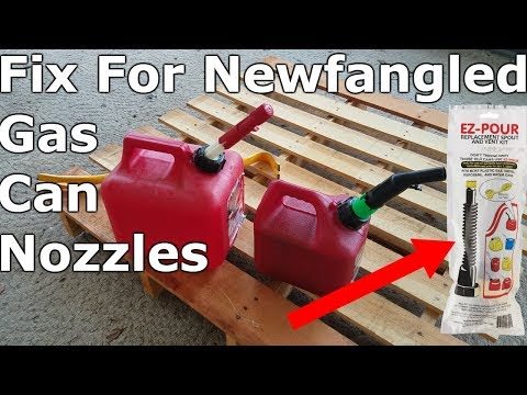 How To Get An Old School Gas Can Nozzle