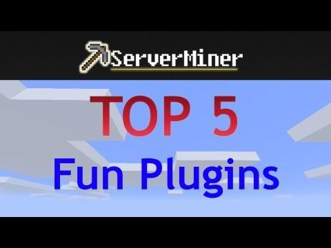 Top 5 fun plugins for your bukkit server