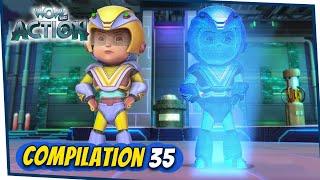 VIR: The Robot Boy Cartoon In Hindi | Compilation 35 | Hindi Cartoons for Kids | Wow Kidz Action
