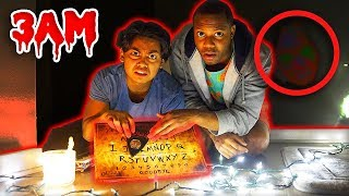 Download Do Not Play OUIJA BOARD at 3AM! (Noises Heard On Camera) Video