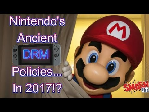 Nintendo Switch eShop Digital Game Buyers Beware! DRM in full effect - STILL!?