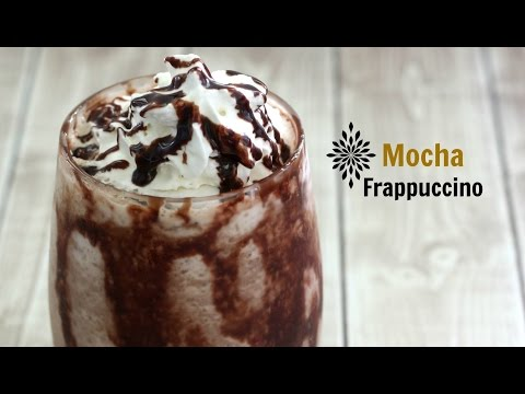 How to make frozen coffee drinks : MOCHA FRAPPUCCINO/ FROZEN MOCHA at home.