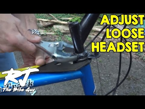 How To Repair Loose Threaded Headset/Fork Play