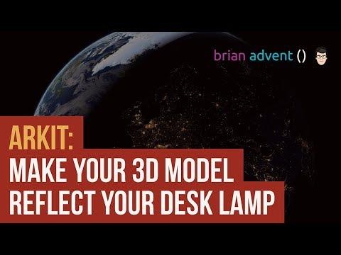 ARKit Augmented Reality: Plane Detection & Light Estimation