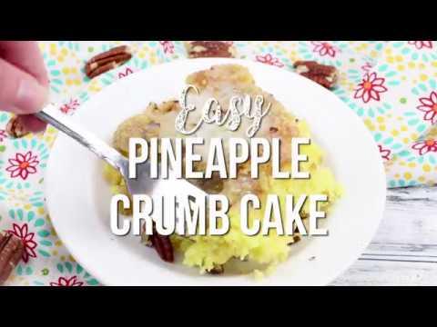 How to make: Pineapple Crumb Cake