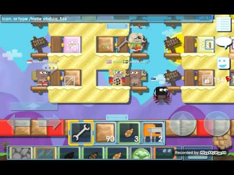 #how to make wooden platform in growtopia#:)