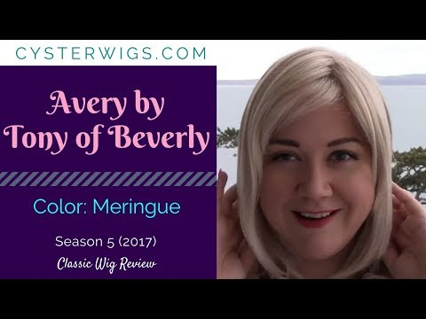 CysterWigs Wig Review: Avery by Tony of Beverly, Color: Meringue