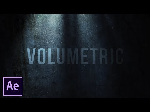 After Effects Tutorial: Volumetric Light and Dust (No Plugins)