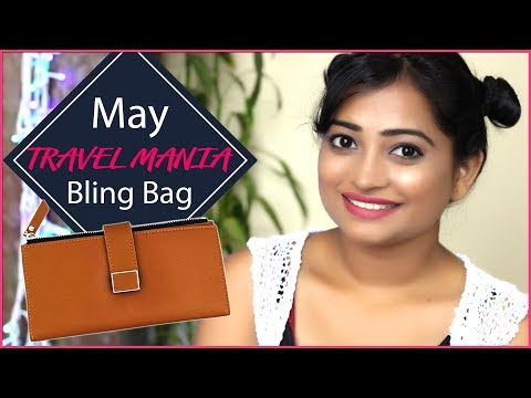 'Travel Mania' Bling Bag May 2018- Jewellery Subscriptions (Must Watch)