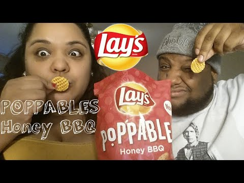 Lay's POPPABLES Honey BBQ Review