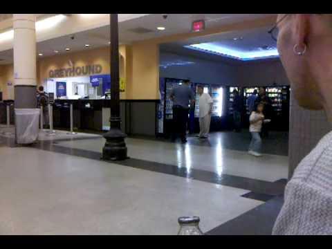 Crazy Guy in Atlantic City bus terminal