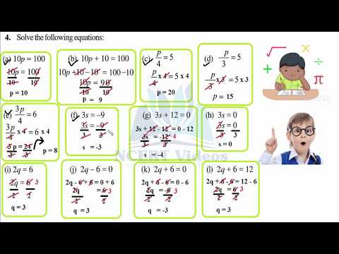 Simple Equations 4.2