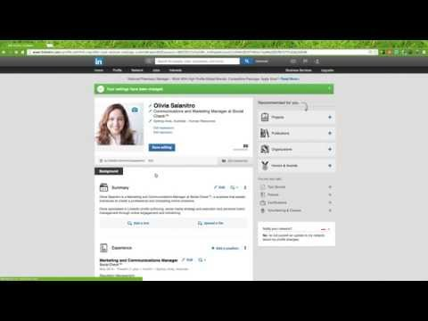 How to Change Your LinkedIn Profile Photo