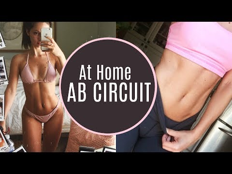 GET A TONED STOMACH | Ab Circuit Workout