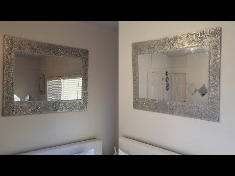 Dollar Tree DIY - 💕 Huge Decorative Wall Mirror 💕