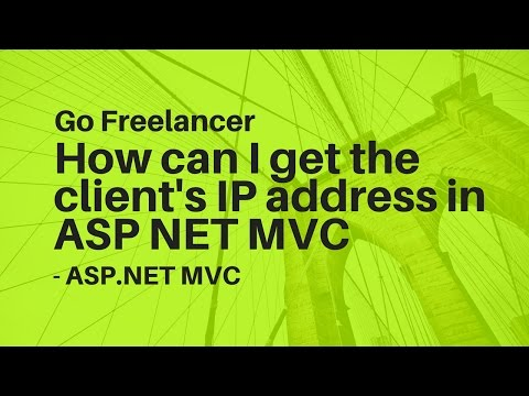 How can I get the client's IP address in ASP NET MVC