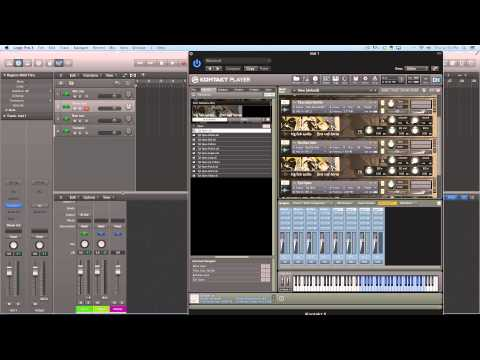 Dealing with Multi-Timbral Instruments in Logic Pro X