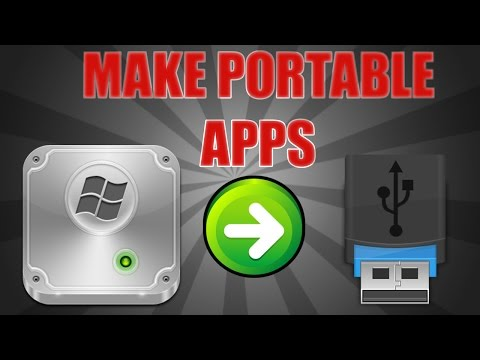 How to Make Almost ANY Application Portable (& Put on USB) [Cameyo]