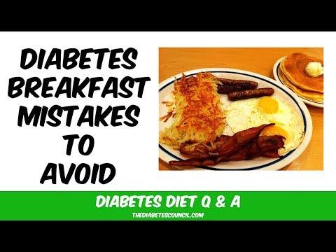 Top 10 Diabetes Breakfast Mistakes To Avoid