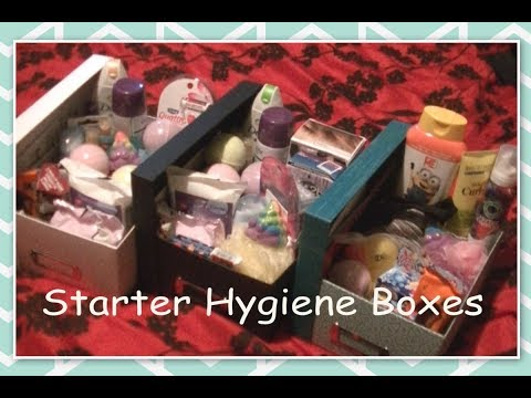DIY Gift Boxes - Learning about Hygiene