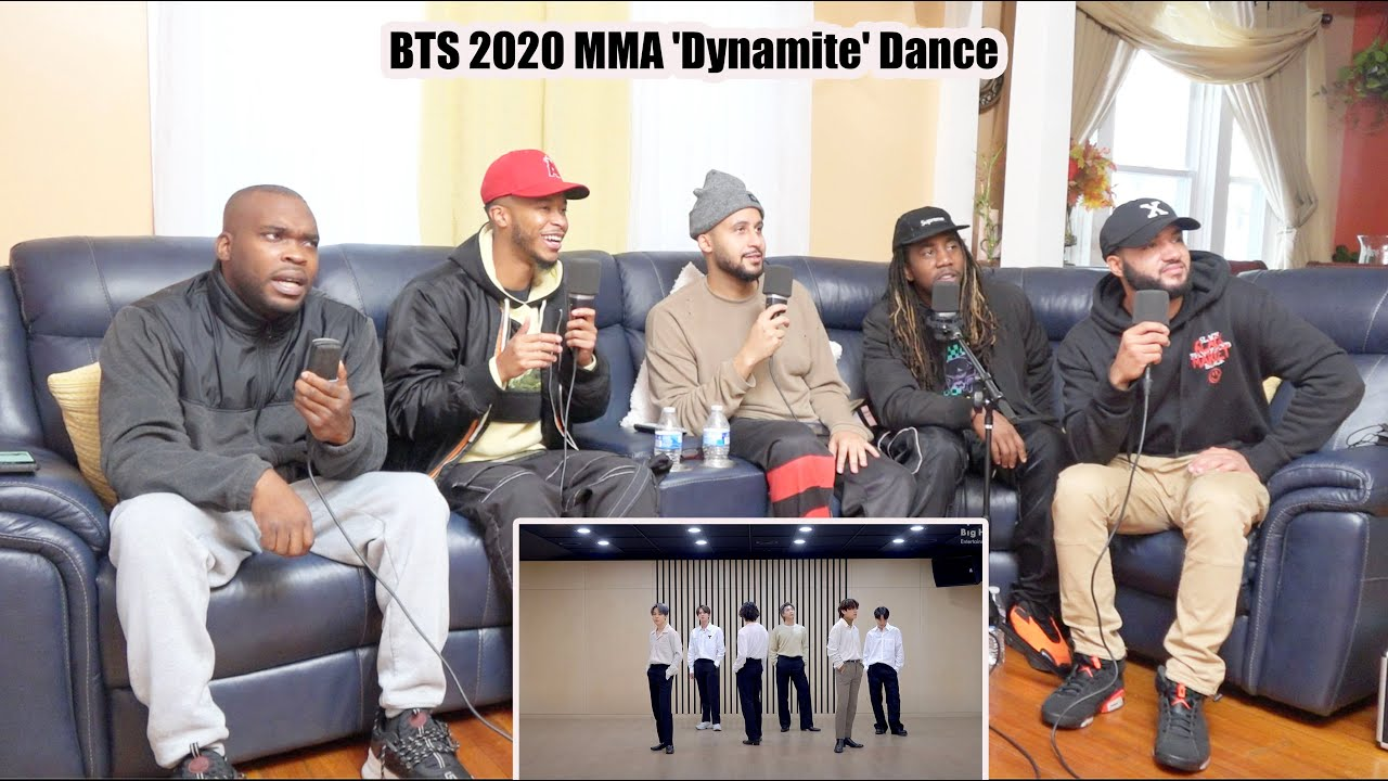 CHOREOGRAPHY] BTS (방탄소년단) 2020 MMA 'Dynamite' Dance Break Practice Reaction