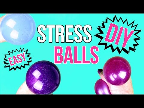 DIY Crafts: How To Make A Squishy Stress Ball - Easy & Cool DIY Project