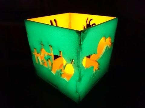 Zombie & Oz Night Lights: Custom Tea Light Box