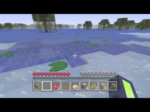 Minecraft:lily pad on ice!!?