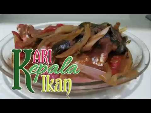 CURRY FISH HEAD RED SNAPPER IN CHINESE STYLE || Ala ATI || Buat Di Rumah.