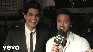 Adam Lambert - 2009 Red Carpet Interview (American Music Awards)