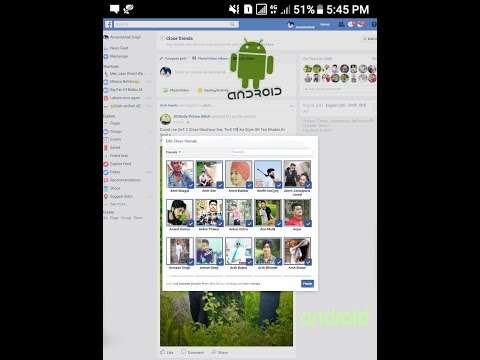 How to close all friend in one click with extension from android..Easy and Simple