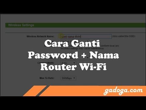 Cara Ganti Password + Nama Wifi Router TP-Link
