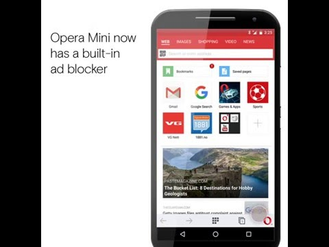 Mobile ad blocker | How to block ads in Opera Mini for Android
