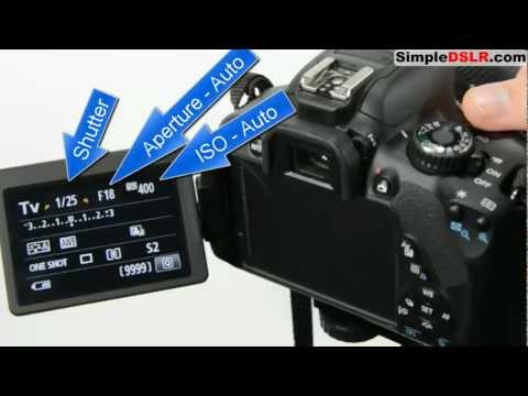 How to Use a DSLR Camera: Learn DSLR Camera Basics Shutter Aperture ISO