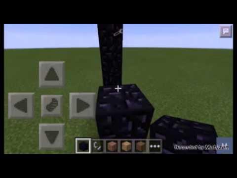 Minecraft pe 0.10.5 / portal do nether igual DO PC