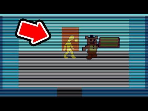 HIDDEN FNAF 6 MINIGAME (Freddy Fazbear's Pizzeria Secret Minigame) - Orange Man