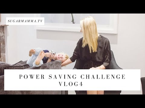 Power Saving VLOG Challenge  4 - Getting serious with technology & water || SugarMammaTV
