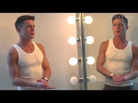 Colton Haynes: Behind the Scenes with Yahoo Style