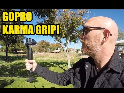 GoPro Karma Grip with GoPro 5 Black & Comparison with EVO and GP 4!