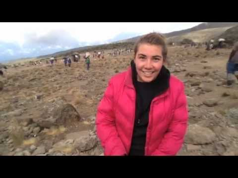 Maddy & The Mountain - doing GLOBE science on Mt. Kilimanjaro