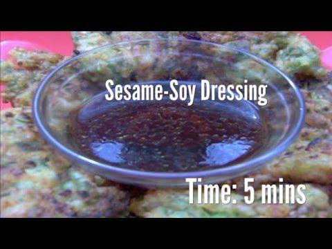 Sesame-Soy Dressing Recipe