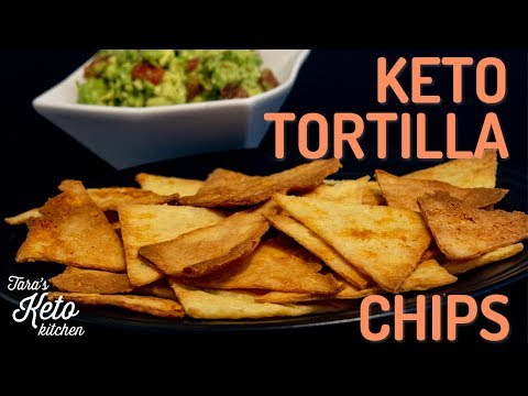 Keto Nacho Chips: Have A Low Carb Snack with Keto Nacho Chips and Guacamole!