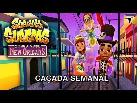 Subway Surfers New Orleans #1 - 10 Pranchas