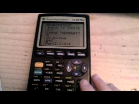Riemann Sum program for class