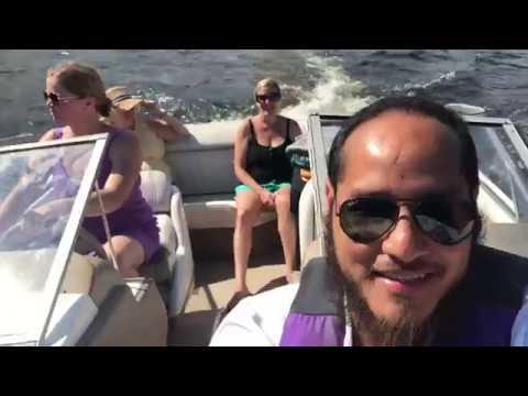 Boat Ride at Echo Lake
