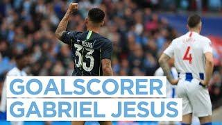 GOAL FOR GABRIEL JESUS! | FA Cup Semi Final | Brighton 0 - 1 City
